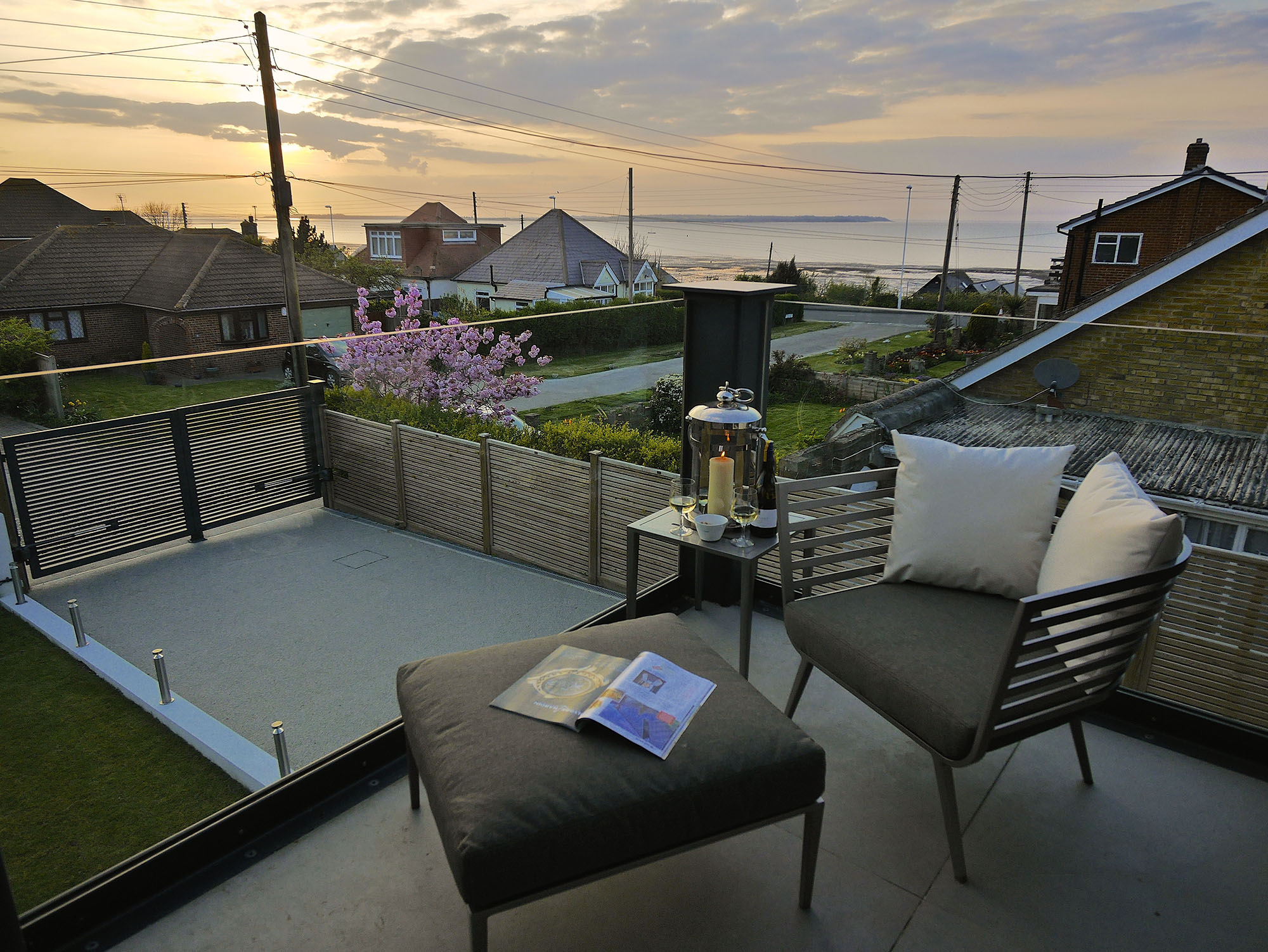 Relax at Oyster Shell Villa Whitstable